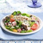 Grilled Chicken Cordon Bleu Salad